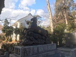 犬山城に近い神社