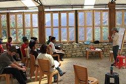 Wilderness First Responder  (WFR) Class 2012 for Uttarakhand Police at NDI base camp Kuflon Uttarkashi