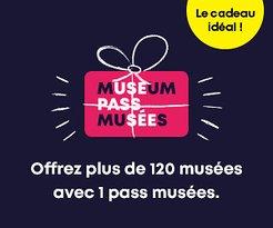 Nous acceptons les Museum Pass!