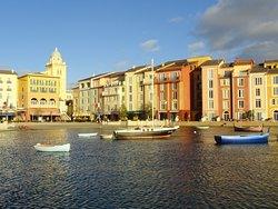 A delightful setting at Portofino.