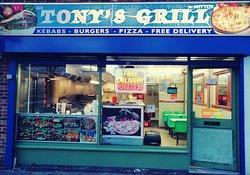 Tony's Grill located on 425 Millbrook Road West, Southampton, SO15 0HX. Tel: 02380 777770