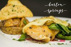 Barton Springs, uno de nuestros platos originales