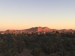 Sunset in Oasis