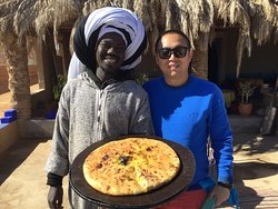 Berber's piza - you should try!