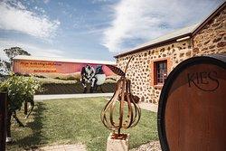 Kies Wines Entrance & Mural