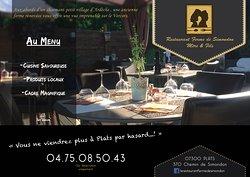 Restaurant Ferme de Simondon