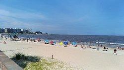 Bella spiaggia panoramica