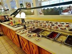 Dessert area.