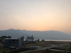 Stunning sunsets. G. eat views of the mountains, lakes, paragliders,