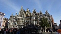 Grote Markt en obras