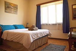 The Double Room with a nice comfortable double bed.