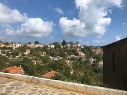 Photo of Lafkos village from hotel