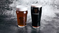Two of our favorite beers! Matuska IPA & Guinness!