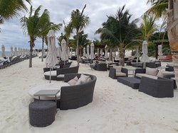 Always lots of seating options to choose from!