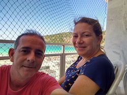 With my Loved wife in Arraial do Cabo, Rio de Janeiro.