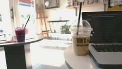 Iced Latte's make for perfect work afternoons