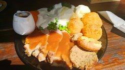 Enormous Roast Pork Sunday Dinner