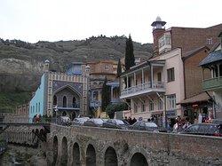 Тбилиси . район серных бань