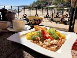 Best chilaquillas In the Baja at Cabo Surf Hotel