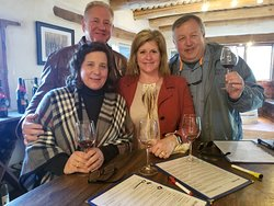 Cheers to a fun birthday celebration wine tour.