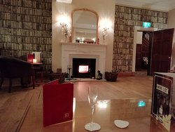 The Bar at the Rowton Hall Hotel