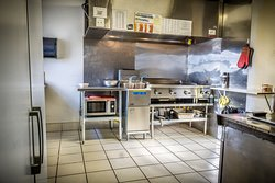 Our Super Clean Kitchen. A Clean Kitchen Produces Quality Food.