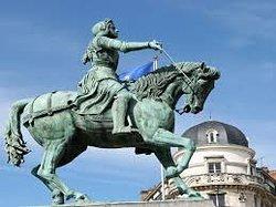Statue Equestre Jeanne d'Arc