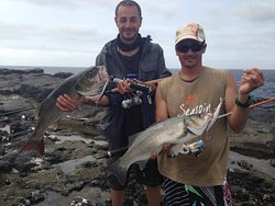 Seabass time for our client