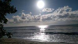 Vista para o praia