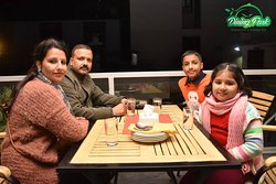 Family time at Dining Park