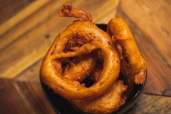 Chilli Batter Onion Rings by Jody Hartley Photography