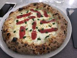 Pizza Margherita sbagliata