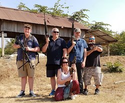 Cambodia Shooting Range Outdoor Phnom Penh