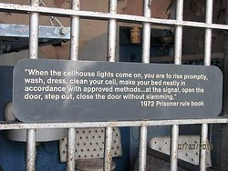 an example of the information posted throughout the prison
