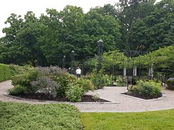 The gardens at Rideau Hall