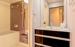 全室に浴槽も完備しております。