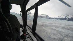NorthStra Trekking_Juenau_campo base trekking Mendenhall Glacier