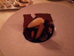 デザートはチョコレート