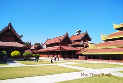Mandalay King's Palace Site in 1857 to 1859 but it was a replica and the original Palace was destroyed by the Allied Soldiers' bombing in 1945.It was restored in 1990's.Now it is the best tourist attrection site in Mandalay