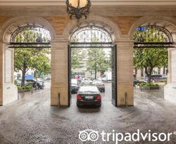 Entrance at The Westin Excelsior, Rome