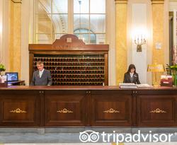 Front Desk at The Westin Excelsior, Rome