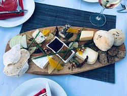 The most amazing cheese platter!