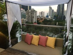 Rooftop terrace at Galleria 10