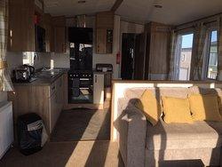 Caravan - kitchen