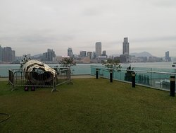 Central Waterfront Promenade in front of Tamar Park