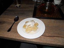 Coconut potato sweet pie