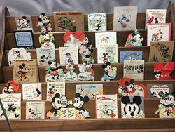Early Disney cards