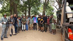 Group of Wildlife Photographers take part the photography tours organise by Prasanna Ambigaibagan on 20th May 2017 to Willpattu National Park.  Total of 18 Participants from Colombo visit Willpattu National Park of Sri Lanka on 20th May 2017.