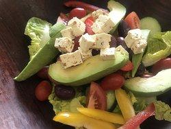 Fresh and crispy salads