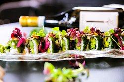 Erfrischende Sushi-Kreation